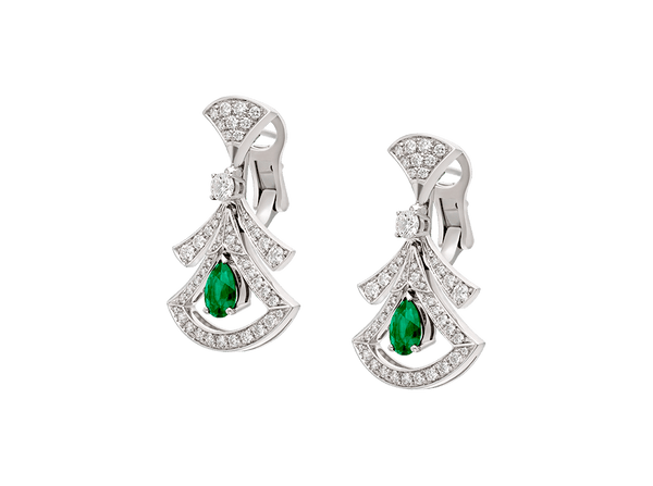 Buy original Jewelry Bvlgari Divas' Dream Earrings 356956 with Bitcoins!