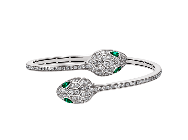 Buy original Jewelry Bvlgari Serpenti  Bangle 356522 with Bitcoins!