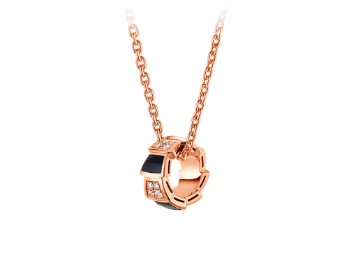 Buy original Jewelry Bvlgari Serpenti Pendant 356554 with Bitcoins!