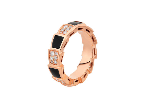 Buy original Jewelry Bvlgari Serpenti RING 356629 with Bitcoins!