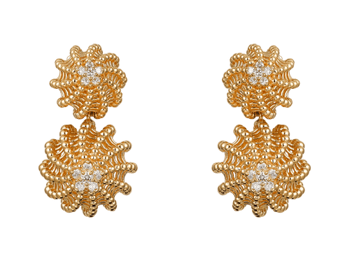 Buy original Cartier Cactus de Cartier earrings N8515093 with Bitcoins!
