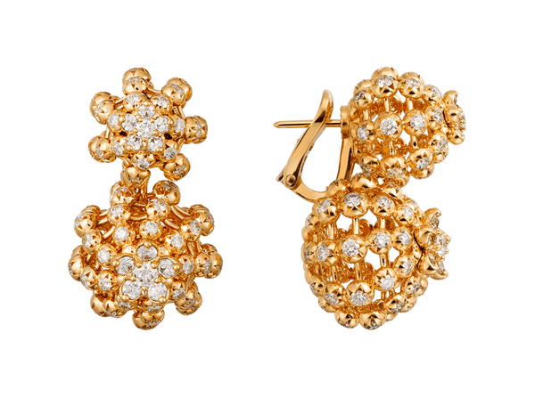 Buy original Cartier Cactus de Cartier earrings N8515141 with Bitcoins!