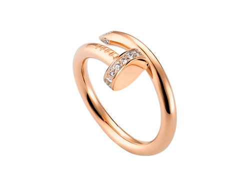 Buy original Cartier Juste un Clou ring B4094800 with Bitcoins!