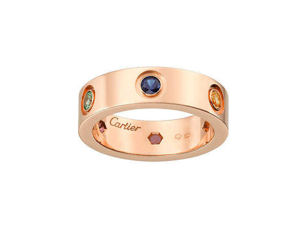 Buy original Cartier Love ring B4087800 with Bitcoins!
