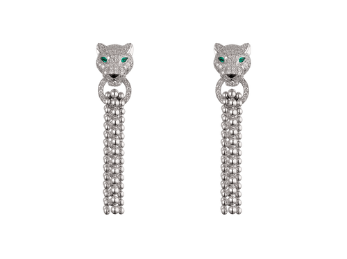 Buy original Cartier Panthère de Cartier earrings N8515073 with Bitcoins!