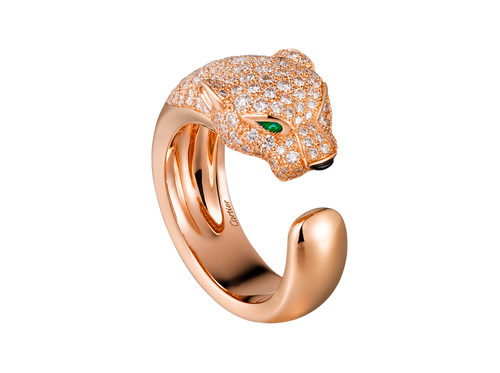Buy original Cartier Panthère de Cartier ring N4742200 with Bitcoins!