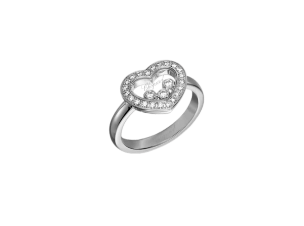 Buy original Chopard HAPPY DIAMONDS ICONS RING 82A611-1200 with Bitcoins!