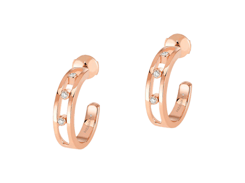 Buy original Messika Earrings Move Classique 4407 with Bitcoins!