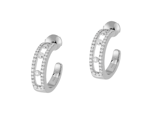 Buy original Messika Earrings Move Classique 4993 with Bitcoins!