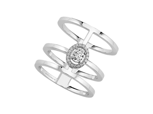 Buy original Messika Glam'Azone ring 6312 with Bitcoins!