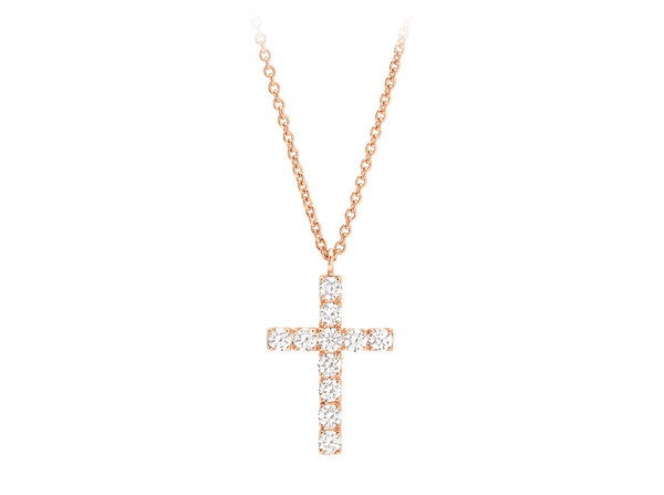 Buy original Jewelry Rueschenbeck Crosses Necklace & Pendant RBK-Rue-2609 with Bitcoins!