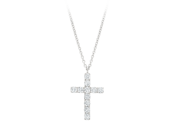 Buy original Jewelry Rueschenbeck Crosses Necklace & Pendant RBK-Rue-2610 with Bitcoins!
