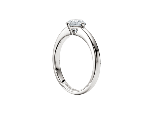 Buy original Jewelry Rueschenbeck Solitaire Ring RBK-Rue-0008 with Bitcoins!
