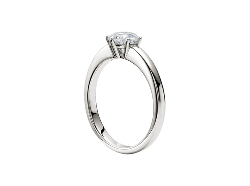 Buy original Jewelry Rueschenbeck Solitaire Ring RBK-Rue-2665 with Bitcoins!
