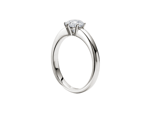 Buy original Jewelry Rueschenbeck Solitaire Ring RBK-Rue-2666 with Bitcoins!