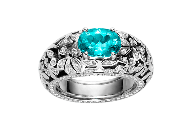 Buy original Jewelry Stoess Fleur d'amour RING 610016070011 with Bitcoins!
