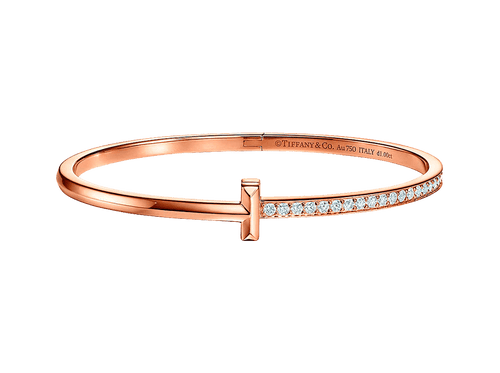Buy original Jewelry Tiffany T Bangle GRP11300 with Bitcoins!