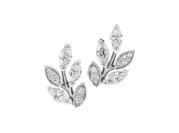 Buy original Jewelry Tiffany Victoria Ear Pins 66886409 with Bitcoins!