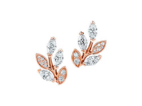 Buy original Jewelry Tiffany Victoria Ear Pins 66912191 with Bitcoins!