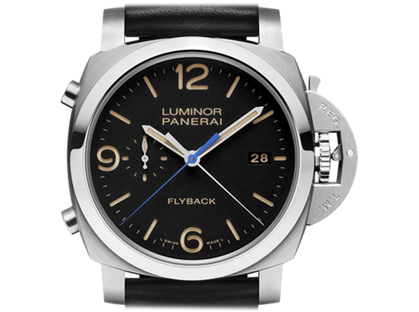 Buy Panerai LUMINOR MARINA 1950 3 DAYS CHRONO FLYBACK AUTOMATIC ACCIAIO with Bitcoin on bitdials