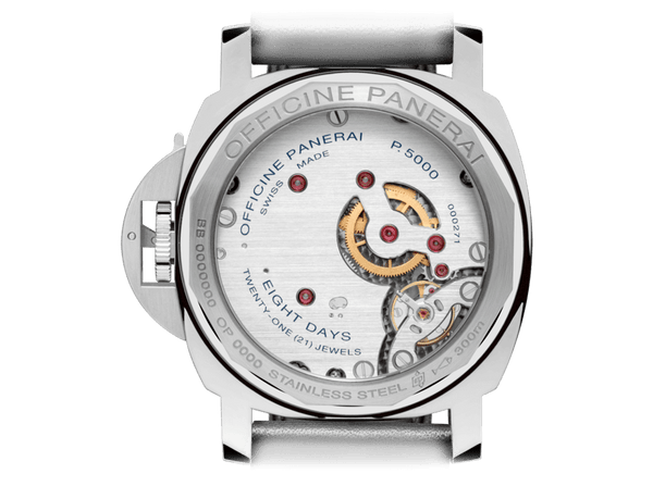 Buy original Panerai LUMINOR MARINA 8 DAYS ACCIAIO PAM00563 with Bitcoins at BitDials.eu