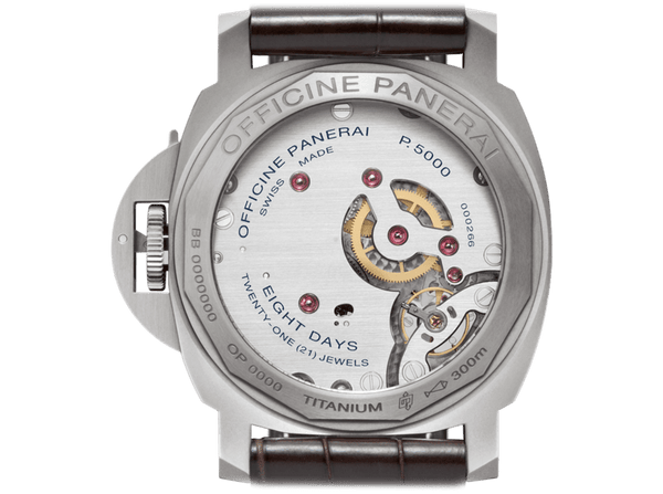 Buy original Panerai LUMINOR MARINA 8 DAYS TITANIO PAM00564 with Bitcoin!