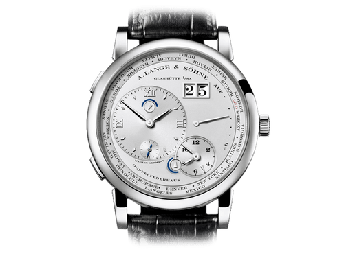 Buy original A.Lange & Sohne LANGE 1 TIME ZONE 116.025 with Bitcoins!