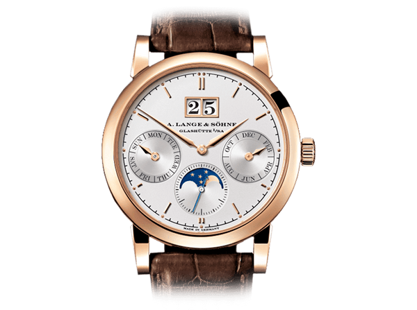 Buy original A.Lange & Sohne Saxonia Annual Calendar 330.032 with Bitcoins!