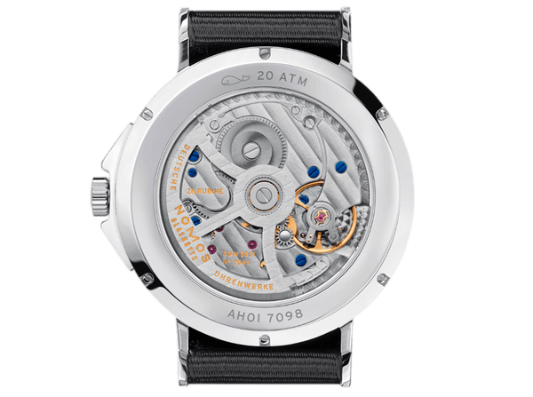 Buy original Nomos Glashuette AHOI ATLANTIC 552 with Bitcoin!