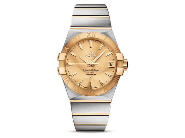 Buy original Omega CONSTELLATION OMEGA CO-AXIAL 123.20.38.21.08.001 with Bitcoins!