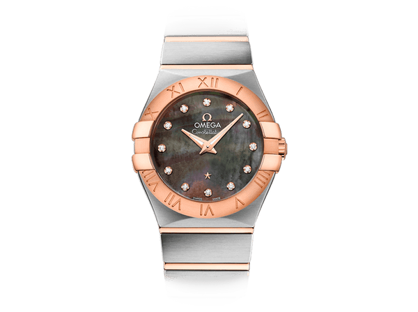 Buy original Omega CONSTELLATION  QUARTZ TAHITI 123.20.27.60.57.006 with Bitcoin!