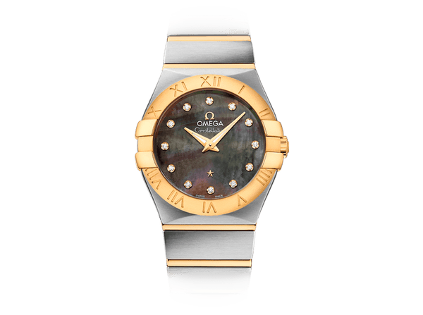 Buy original Omega CONSTELLATION  QUARTZ TAHITI 123.20.27.60.57.007 with Bitcoin!