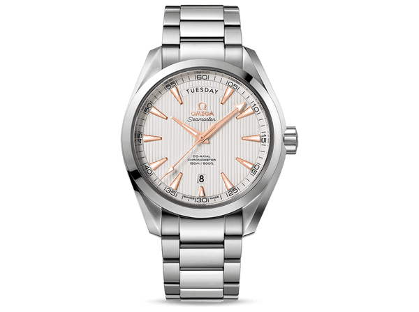 Buy original Omega SEAMASTER AQUA TERRA 150M OMEGA CO-AXIAL DAY-DATE 231.10.42.22.02.001 with Bitcoin!