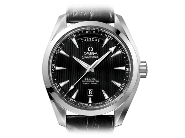 Buy original Omega SEAMASTER AQUA TERRA 150M OMEGA CO-AXIAL DAY-DATE 231.13.42.22.01.001 with Bitcoin!