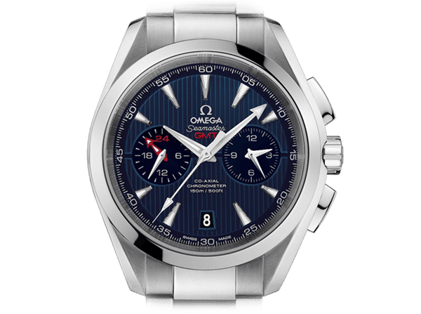 Buy original Omega SEAMASTER AQUA TERRA 150M OMEGA CO-AXIAL GMT CHRONOGRAPH 231.10.43.52.03.001 with Bitcoin!
