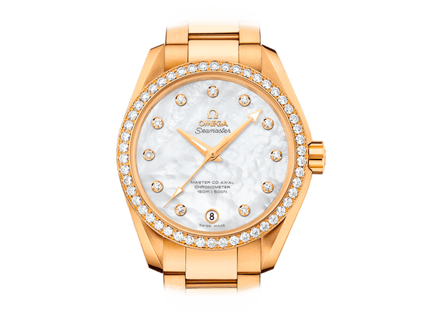 Buy original Omega SEAMASTER AQUA TERRA 150M OMEGA MASTER CO-AXIAL LADIES 231.55.39.21.55.002 with Bitcoin!