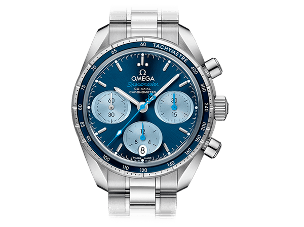 Buy original Omega SPEEDMASTER 38 CO-AXIAL CHRONOGRAPH 324.30.38.50.03.002 with Bitcoins!
