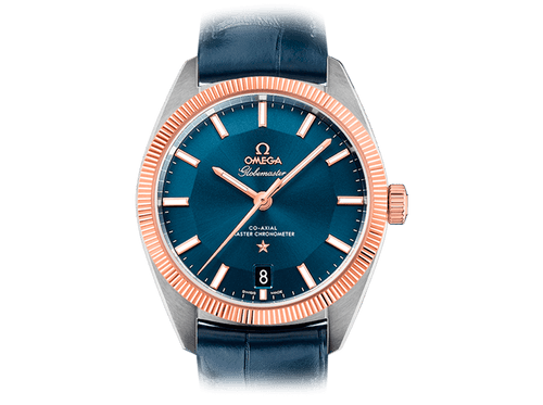 Buy original Omega GLOBEMASTER OMEGA CO-AXIAL MASTER CHRONOMETER  130.23.39.21.03.001 with Bitcoins!