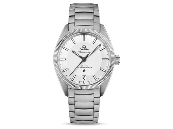 Buy original Omega GLOBEMASTER OMEGA CO-AXIAL MASTER CHRONOMETER  130.30.39.21.02.001 with Bitcoins!