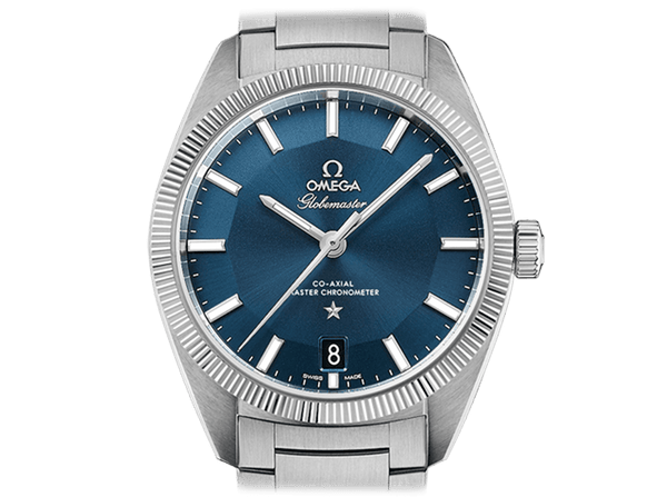 Buy original Omega GLOBEMASTER OMEGA CO-AXIAL MASTER CHRONOMETER  130.30.39.21.03.001 with Bitcoins!