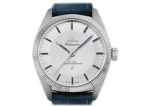 Buy original Omega GLOBEMASTER OMEGA CO-AXIAL MASTER CHRONOMETER  130.93.39.21.99.001 with Bitcoins!