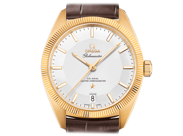 Buy original Omega GLOBEMASTER OMEGA CO-AXIAL MASTER CHRONOMETER  130.53.39.21.02.002 with Bitcoins!