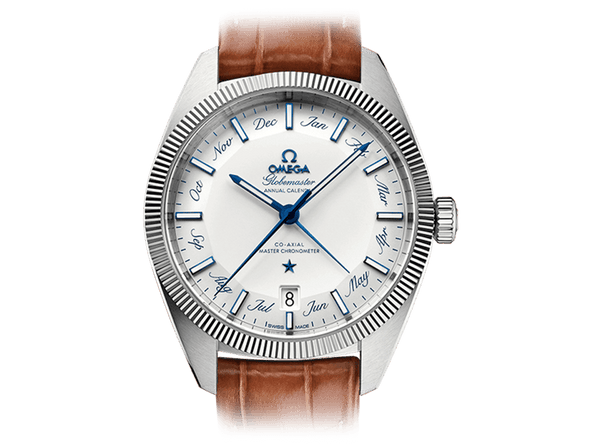 Buy original Omega GLOBEMASTER OMEGA CO-AXIAL MASTER CHRONOMETER ANNUAL CALENDAR 130.33.41.22.02.001 with Bitcoins!