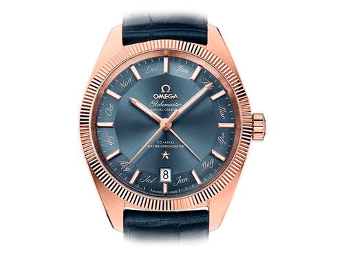 Buy original Omega GLOBEMASTER OMEGA CO-AXIAL MASTER CHRONOMETER ANNUAL CALENDAR 130.53.41.22.03.001 with Bitcoins!