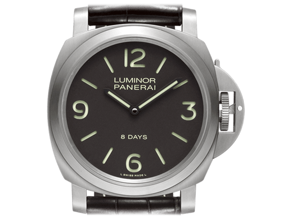 Buy original Panerai Luminor Base Titanium PAM00562 with Bitcoins at BitDials.eu