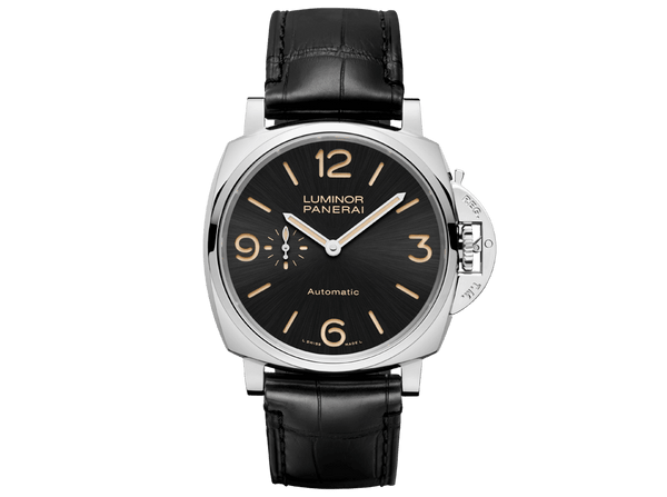 Buy original Panerai LUMINOR DUE 3 DAYS ACCIAIO PAM00674 with Bitcoin!