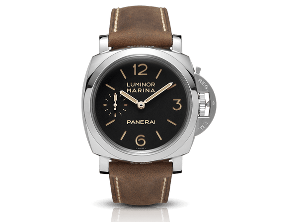 Buy original Panerai Luminor 1950 Days Acciaio PAM00422 with Bitcoin!