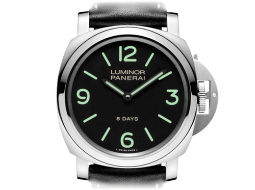 Buy original Panerai LUMINOR BASE 8 DAYS PAM00560 with Bitcoin!