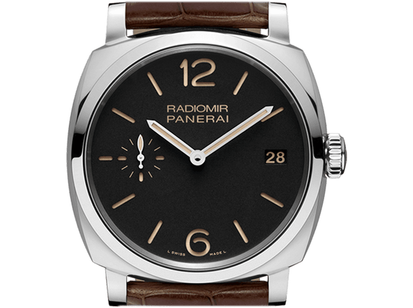 Buy original Panerai RADIOMIR 1940 3 DAYS ACCIAIO PAM00514 with Bitcoins at BitDials.eu