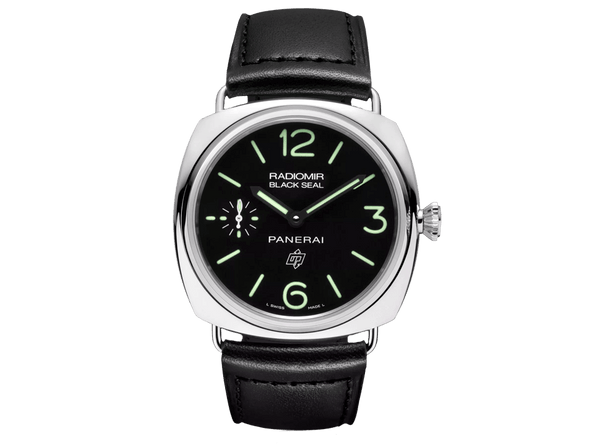 Buy Panerai RADIOMIR BLACK SEAL LOGO ACCIAIO with bitcoin on bitdials